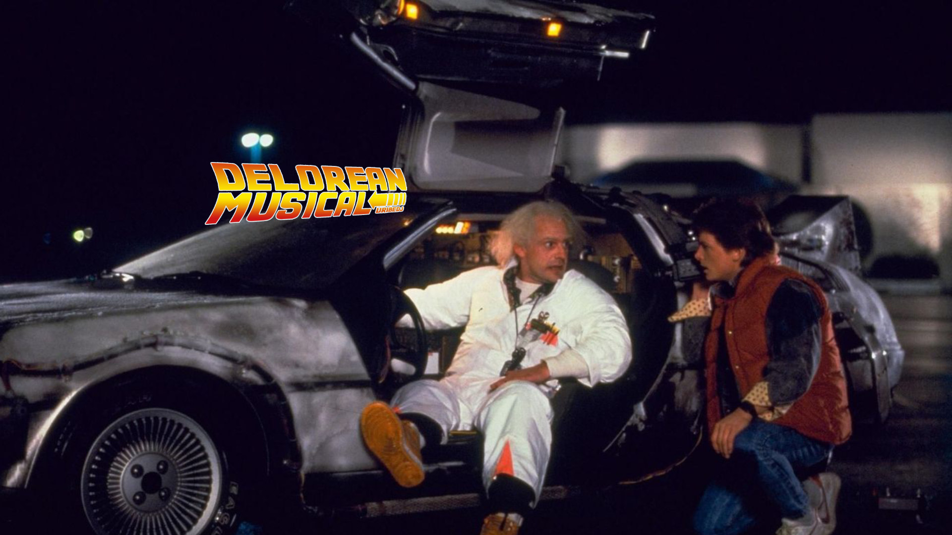 Delorean musical con Uribe DJ: The power of love