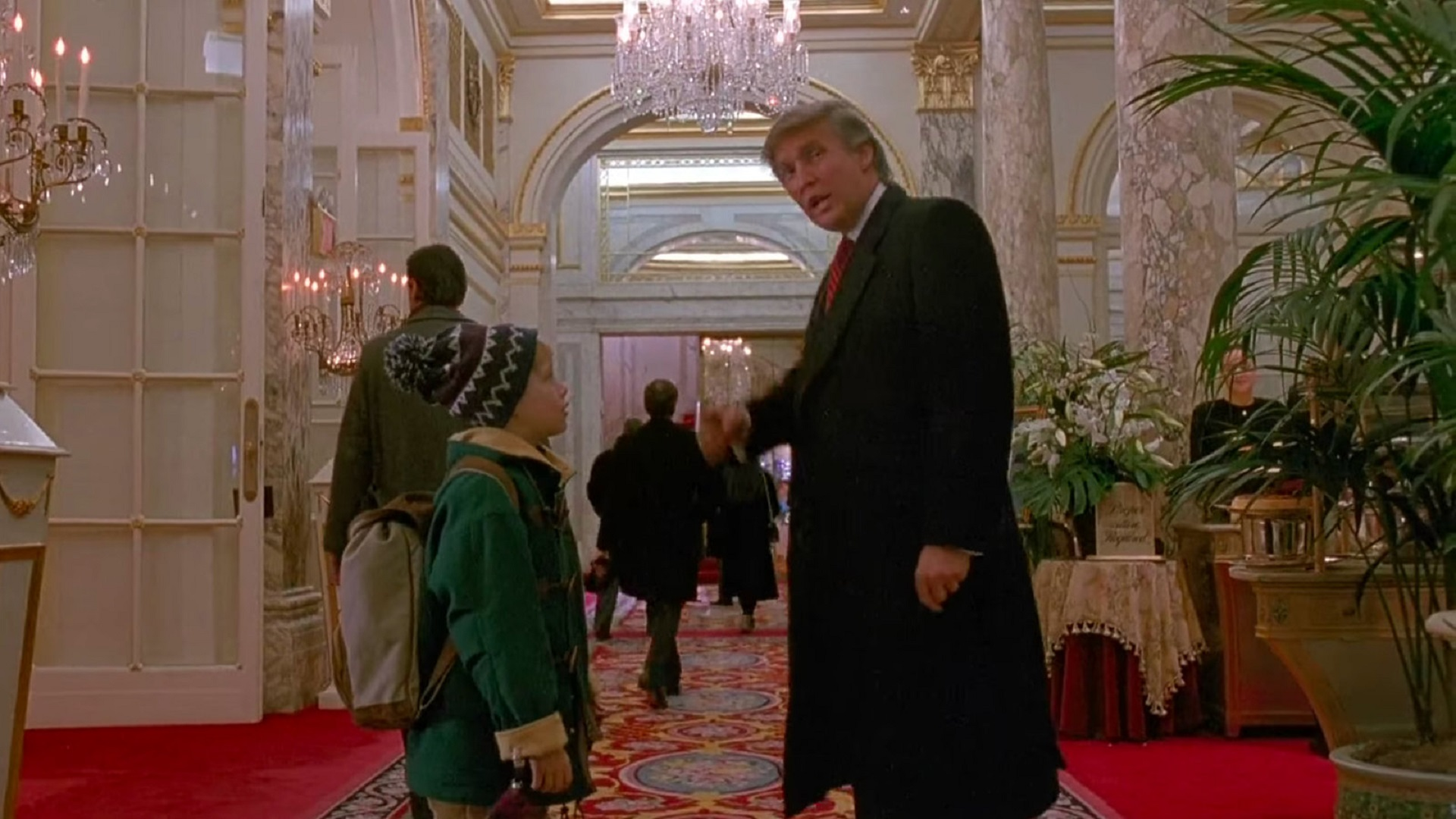 Así se ve 'Home Alone 2' sin el cameo de Donald Trump