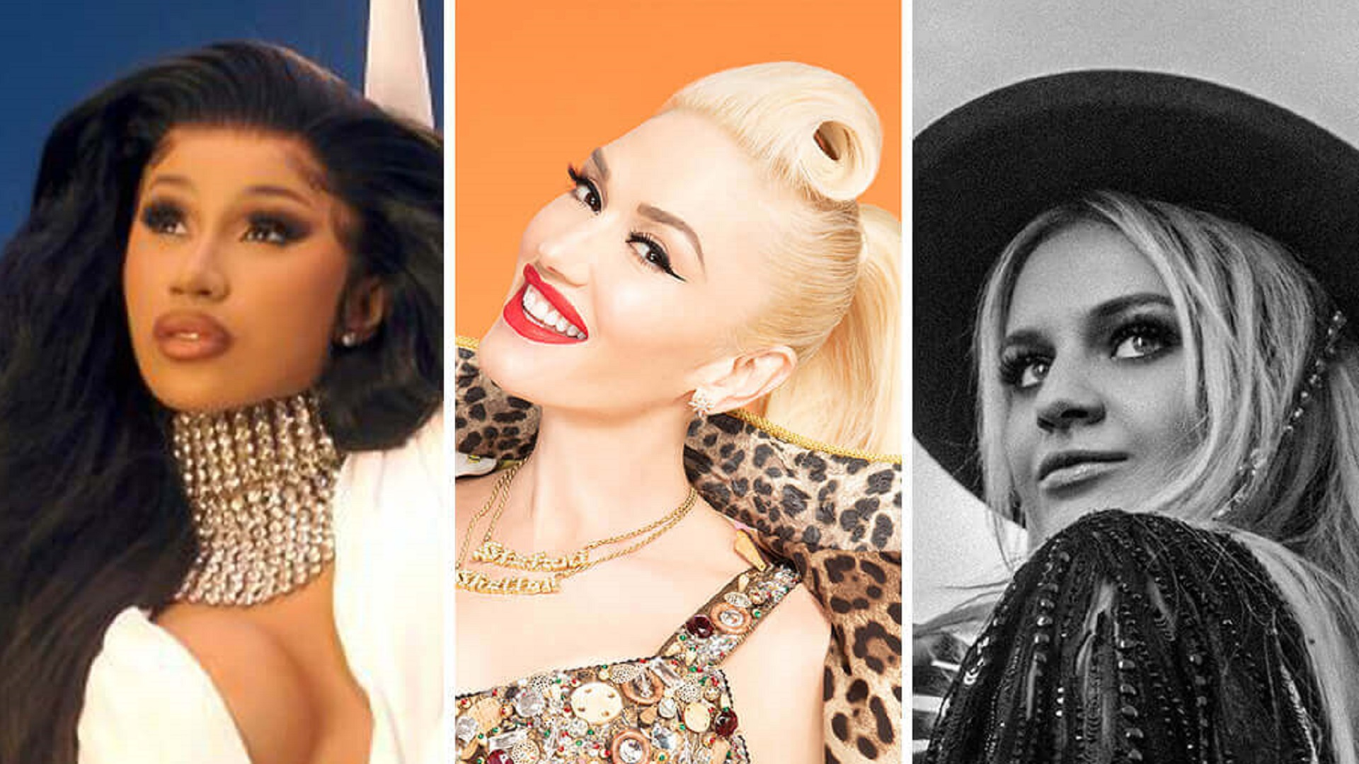 Cardi B, Gwen Stefani y Kelsea Ballerini listas para el evento 'Celebrating Women in Music'