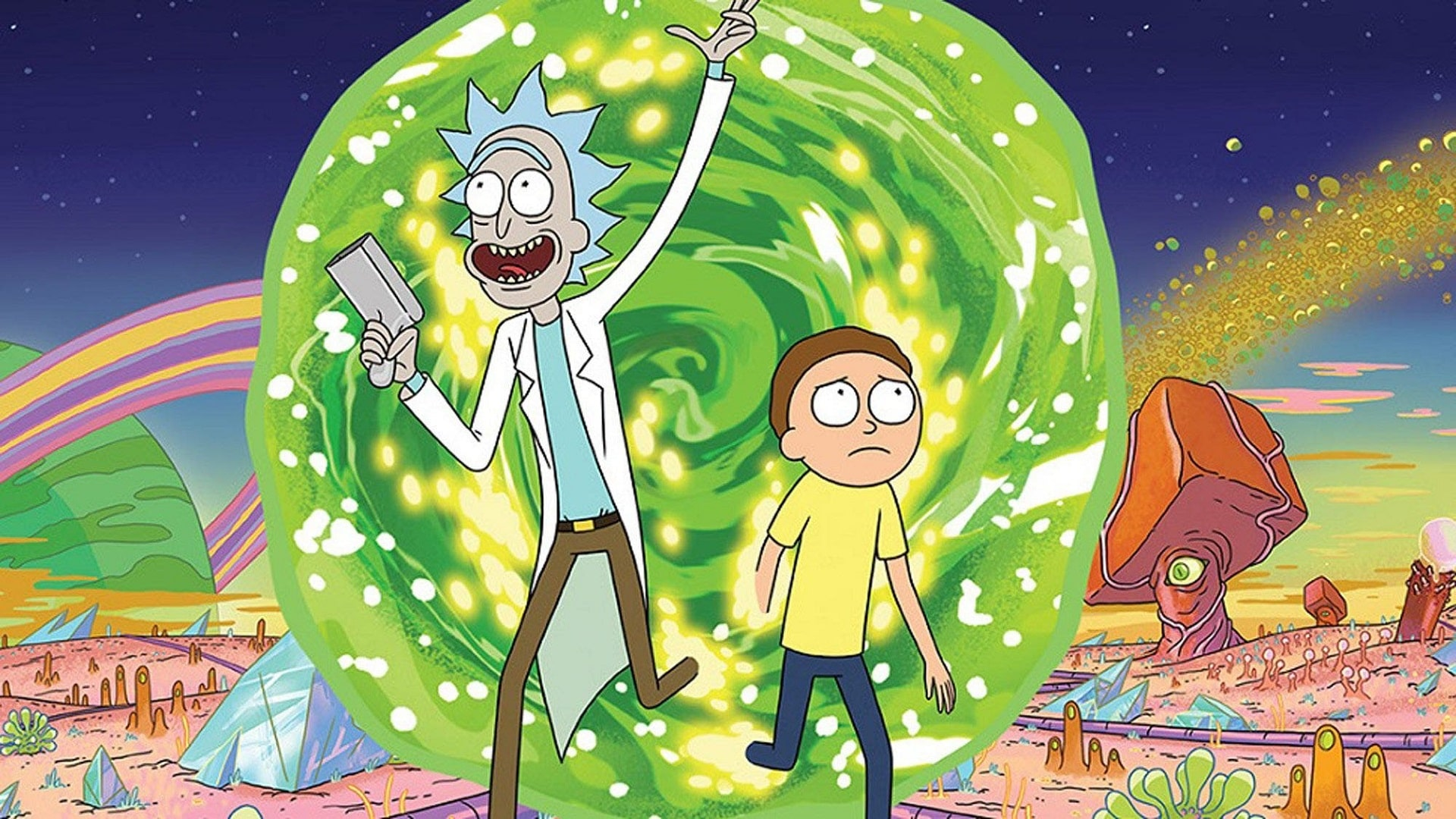 Lanzan trailer de la quinta temporada de Rick and Morty