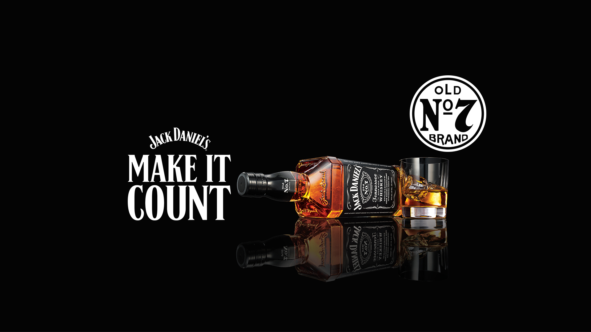Jack Daniel's, Make it Count! 🥃