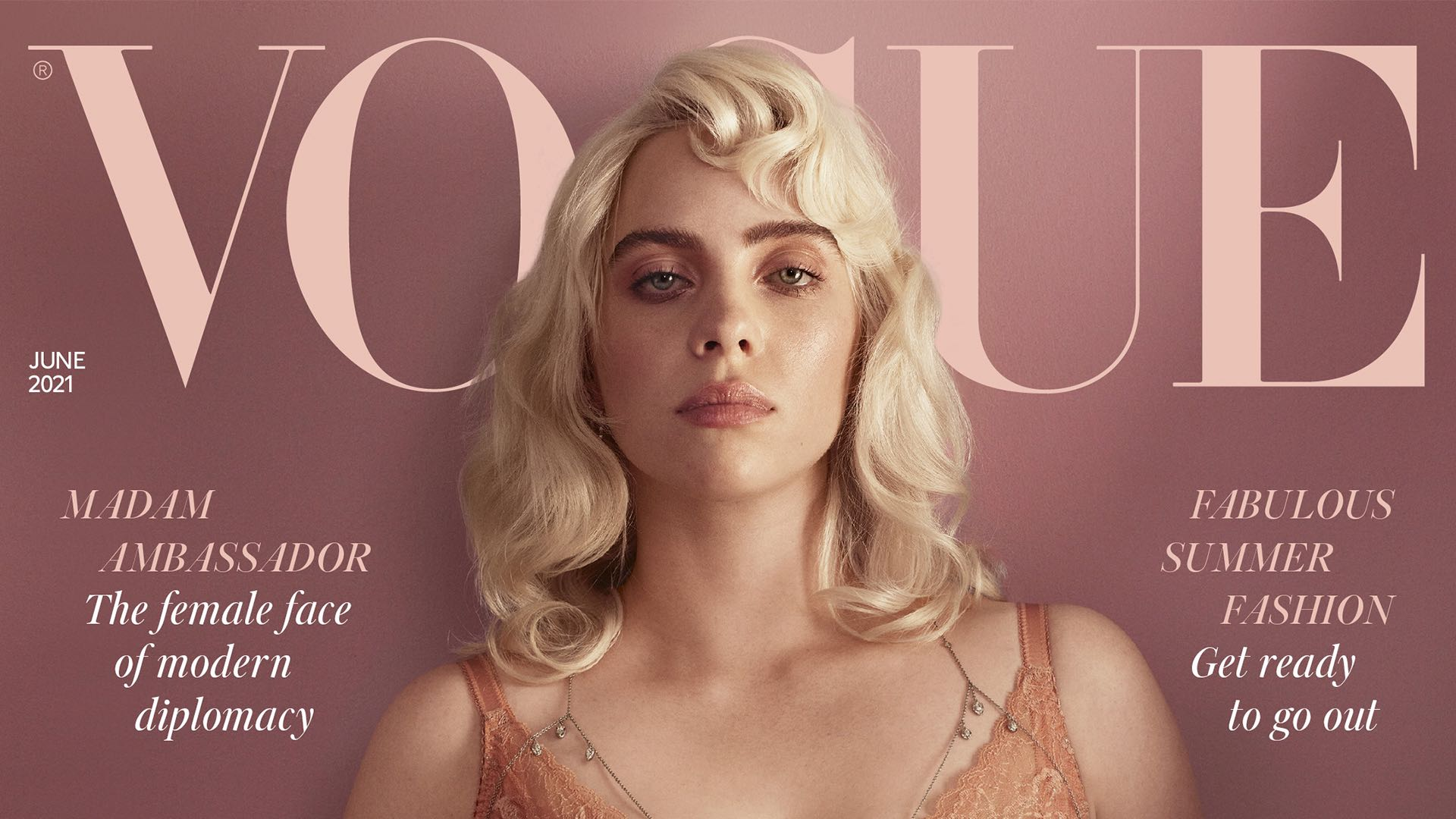 Billie Eilish rompe récord en Instagram por segunda vez con portada de British Vogue