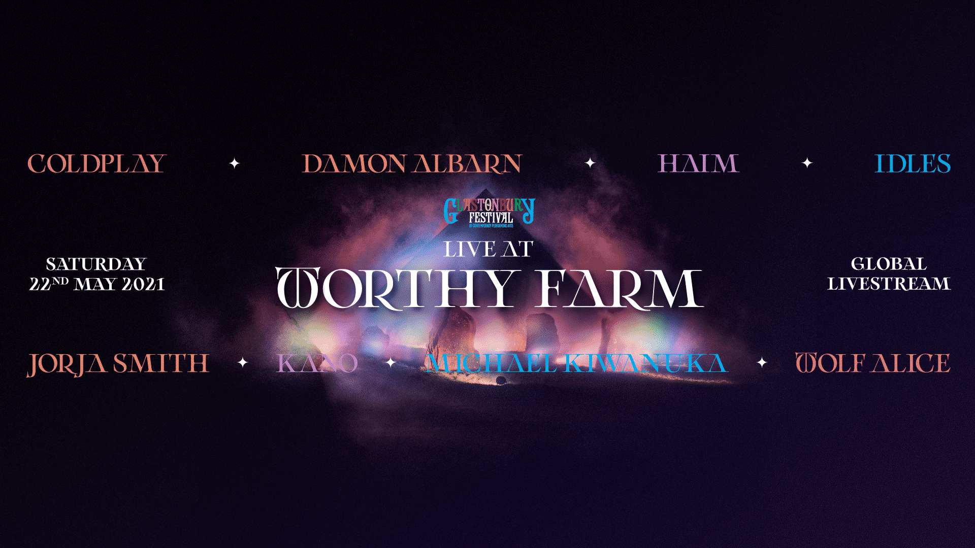 Glastonbury anuncia un evento mundial: ´Live at Worthy Farm´